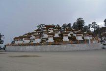 Dochula Pass, Bhutan / http://krishnandusarkar.com/journey-to-phobjika-via-dochula/