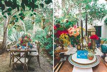 EIB & JJPR Wedding - Flowers & Tablescapes