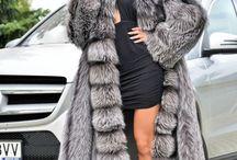 Silver Fox Coat www.furs-outlet.com