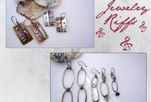Work by Stacie Florer / Metalsmith Stacie Florer's jewelry designs.
