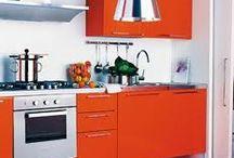 Kitchen and Diner * Orange