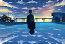 Wallpaper Landscape Anime