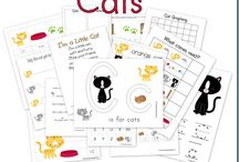 Kids - Cat Theme / by Carly Campbell