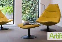 Merken | Artifort / Tijdloze ontwerpen van vooruitstrevend design  Meer dan 120 jaar geleden werd in Maastricht de basis gelegd voor het wereldberoemde designmeubelmerk Artifort. In de jaren 60 van de vorige eeuw veroverde Artifort, onder leiding van toenmalig esthetisch adviseur Kho Liang Le, de harten van designliefhebbers over de hele wereld.