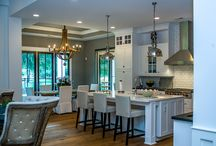 Kitchens / Kitchens are the heart of the home. Here are some unique kitchens built by Jerry Davis Custom Homes.