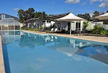 Marion Holiday Park Facilities / Marion Holiday Park has so much to offer, including a 45m lagoon pool, and indoor pool, a water park, a jumping pillow, games room and much more!