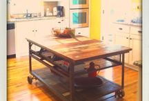 Apartment - Dinner Table/Work Station / by E. Bleecker