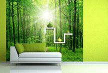 Wände und Tapeten