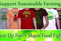 Sustainable Farming / We need to raise funds to implement broad acre permaculture as a profitable model that can be reproduced across the country. Please consider helping us by purchasing our shirts for yourself, family or as a gift. Our plan is to raise money to purchase a farm and apply sustainable farming practices. Tell a friend by sharing on Facebook , Twitter and Pintrest. Together we can make a difference that will be felt for generations to come!
