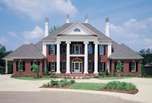 Southern House Plans / These Southern house designs, plantation style homes, and other Southern inspired ideas will have you feeling nostalgic for the 'Ol South in no time at all.