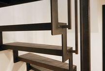 Escaliers en métal / Ouvrages réalisés par Dunod Mallier ferronniers d'art