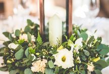 Rose Gold & Green Wedding theme / Popular for 2017 and 2018. While the warm russet tones might seem more fitting for and Autumn wedding, rose gold teamed with fresh green is a beautiful style for spring too...