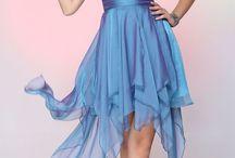 Nádherné plesové šaty