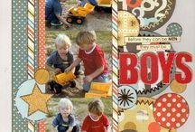 scrapbooking- boys