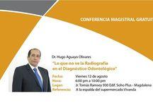 """Conferencia Magistral en Magdalena """"Lo que no ve la radiografía en el Diagnóstico Odontológico"""""""