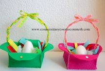 Manualidades para pascua-Semana santa / Muchas manualidades para la semana santa-pascua. dulceros,huevos de pascua DIY-TUTORIALES