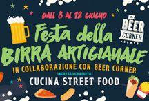 Festa della Birra Artigianale e #Streetfood dall'8 al 12 Giugno Cantù (CO)  #unaltropianeta