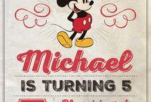 Vintage micky party