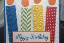 birthday cards / by Lisa Moravec