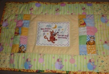 quilts for maternity ward Albany hospital / Can no longer make large quilts, so because I love to quilt I now make quilts for the new babies at our new hospital