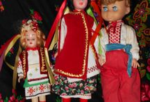 doll in ukrainian costume