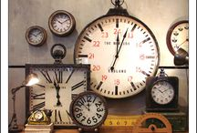 TICK TOCK CLOCKS / by WEST FURNITURE REVIVAL