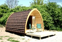 DIY Glamping / Well, somewhat. Here we have collected our top glamping manufacturers to get you started on building your own glamping getaway. Take a peek at these tents, tipis, pods, yurts and more!