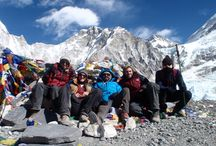 Everest Base Camp Trek in Nepal / Everest Base Camp With eight of the world's ten highest peaks, Nepal is loaded with spectacular mountains vistas. Everest trek is not only famous for its proximity to the world's highest mountain (8848m.) but also for its friendly Sherpa people, picturesque villages, great variety of cultures and traditions, colorful festivals and monasteries.  http://www.clearskytreks.com/packages/everest-kalapathar-trek/