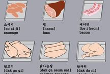 Korean / For helping to learn the Korean language / by Kayla Ginette