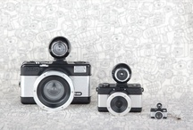 Photos and old cameras