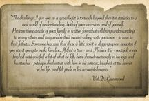 Genealogy Quotes / by AC Ivory