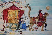 Inspirational Art  & Jackie Morris