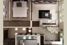 Планировки домов и квартир