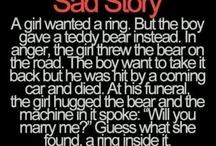 Sad storry