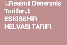 '..Resimli Denenmis Tarifler..!: ESKISEHIR HELVASI TARIFI