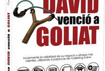 EL DÍA QUE DAVID VENCIÓ A GOLIAT - #vencergigantes  / Libro para Pymes con espíritu emprendedor.  Autor: David Gómez