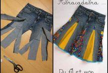 Hacer De Jeans Faldas