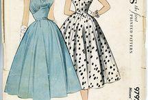 "Vintage pattern ""50"". / by Marianne Segers"