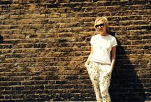 How to wear printed trousers...