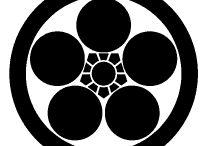 Family crest Ⅵ / umebachi梅鉢,uroko鱗,ebi海老,eboshi烏帽子,ougi扇