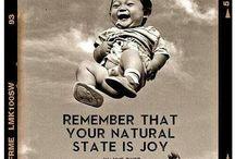 Joyful things