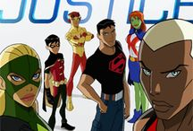 Young justice and Teen titans