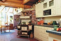 Kitchen ♥ / I ♥love♥ ideas for the kitchen remodel of my dreams.
