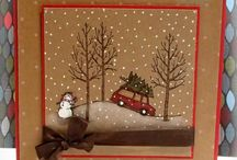 Card Ideas - SU White Christmas / by Lisa Gundrum