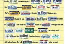 Row by row licence plates