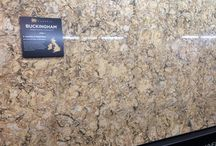 Quartz in Your Kitchen  / Some Beautiful examples of Quartz as well as some samples you could choose from.