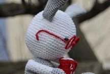 Doudous au crochet