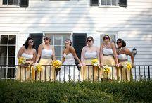 Yellow Grey & White Wedding Inspiration