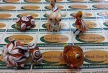 Glass Roma Glass / Fun with Glass & Art Glass in Rome , Via Sora 30 / 31 Rome Italy with Rankoussi Bead Shop Rome®