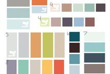 Color Palettes / by Colleen VanderLinden